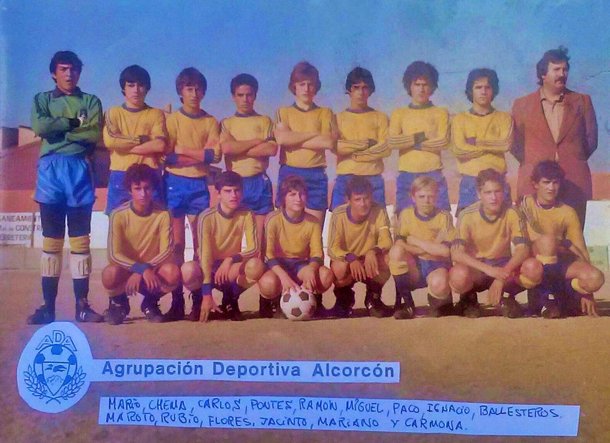 ¡Buenos días#Alcorcón! Así era el Infantil de la Agrupación Deportiva de Alcorcón en 1978. Pongamos que hablo de Alcorcón. Soy de https://t.co/O5CuDMRoZi #AlcorcónAntiguo #MeGustaAlcorcón #foto #fotografía #photo #alcorconhoy https://t.co/D2nU84QrCC