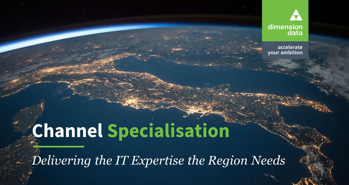 Owing to the high degree of innovation and complexity of solutions being deployed in the #MiddleEast, and the 'verticalised' nature of the market, specialisation is essential for channel organisations to deliver value and remain relevant https://t.co/tqSBb5OOIp https://t.co/9fW1hQ8qKA