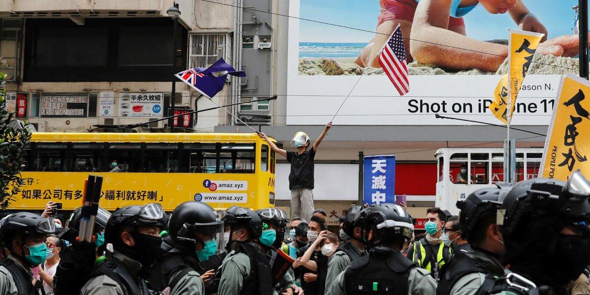 Comment la Chine resserre létau sur Hongkong lejdd.fr/International/…