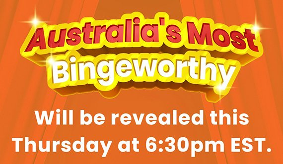 At 6.30pm AEST, @michalabanas will be announcing the winners of #aussiebinge, with some very special guests. Make sure to tune in at https://t.co/BeCeBSE881 https://t.co/7t47K1CTYl