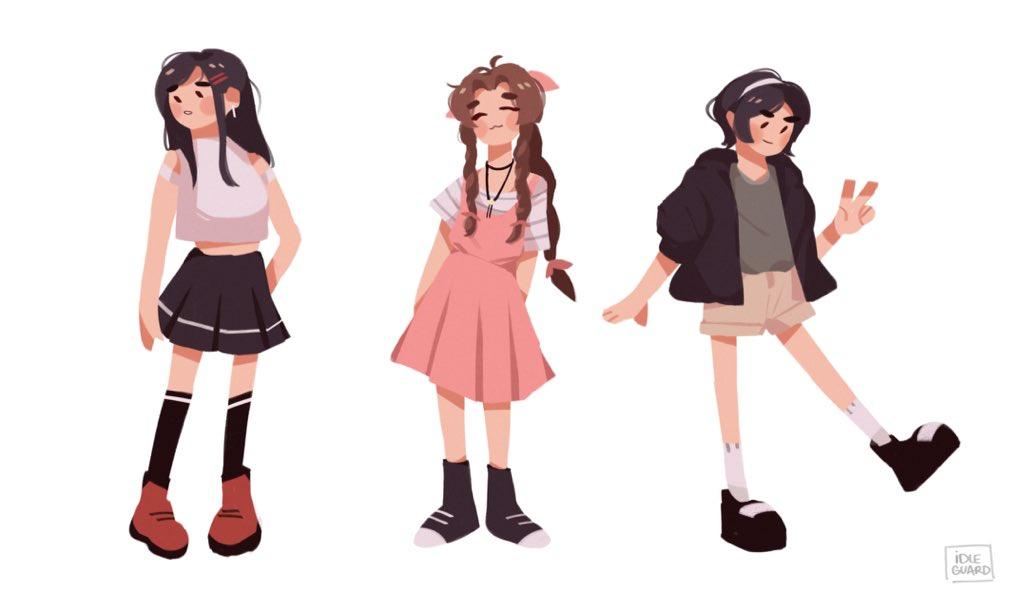 best girls  #FF7R  <br>http://pic.twitter.com/Qrmg9Na5Xs