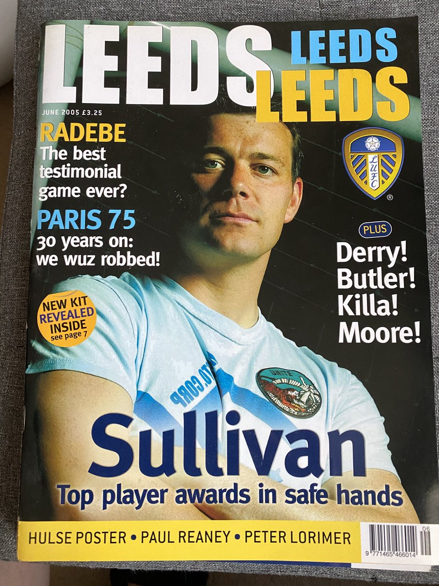'We Wuz Ribbed!' #lufc  Front cover of LeedsLeedsLeeds mag, 2005 on the 30th anniversary of Paris. https://t.co/Om7qBcZJxL