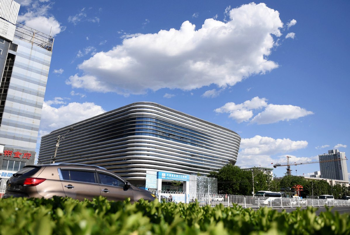 "Construction of""#IceJar""comprehensive training center was completed,becoming the first newly-built venue in the Beijing competition zone this year.The ""Ice Jar"" will become the only winter ice training &competition base of the General Administration of Sport of China in Beijing. <br>http://pic.twitter.com/Fjxoy63LWR"