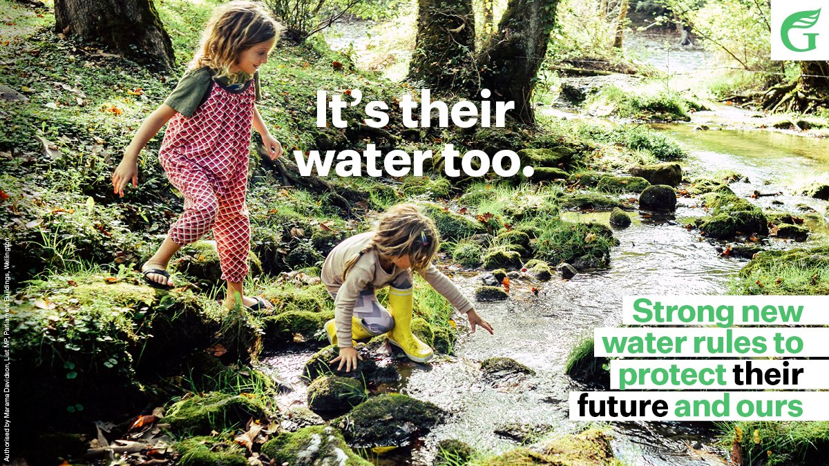 Water is life. Water is a taonga. Major #freshwater reforms announced today provide the strongest ever protections of our waterways. 💚💧💚 @MaramaDavidson | @EugenieSage | #nzpol