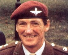 Remembering the legend Lieutenant Colonel H Jones VC OBE Killed in action today in 1982 during The Battle of Goose Green Lest we forget H and the brave men who fell too at Goose Green 🇬🇧🙏