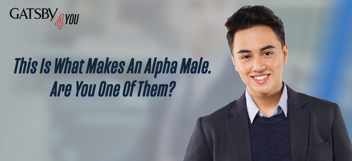 Hey buddy! Always remember that you can become the alpha of your own life. Don't worry, we've always got your back! Let us help you define and discover your inner alpha traits.   Read here: https://bit.ly/GATSBYWhatMakesAnAlphaMale…  #GATSBY4You #GATSBYPH #AlphaMale #MensLifeStyle pic.twitter.com/NilOa8N2Ii
