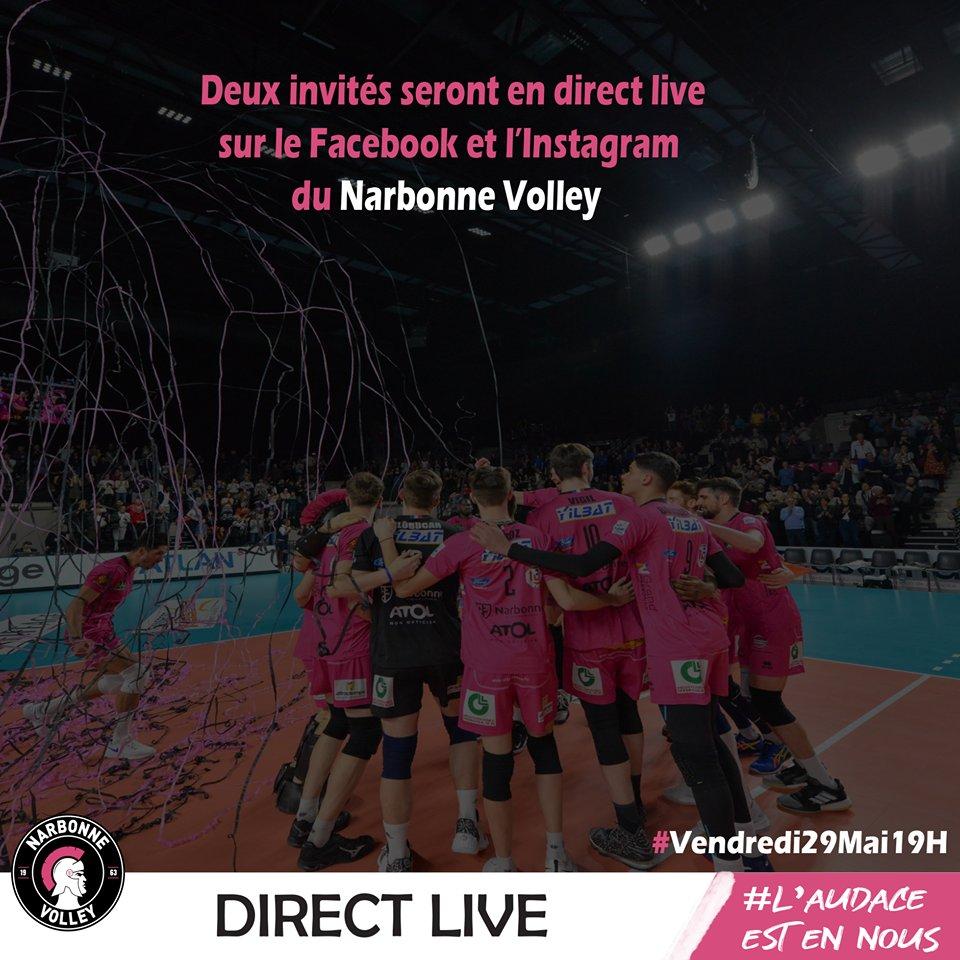 Le #live du @narbonnevolley #LAM @LNVofficiel c'est demain soir (19h) sur...