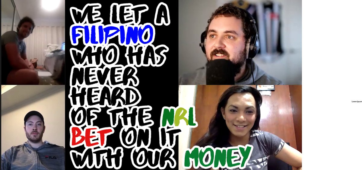 We brought a Filipino whose never heard of Rugby League come on our comedy gambling podcast and bet on NRL with our money | Aussie Degens ep 5 Watch:  https:// youtu.be/pGvO5yY_E7s     #comedypodcast #podcast #webseries #comedyseries #gamblingpodcast #youtubecomedyshow #gambling #nrl <br>http://pic.twitter.com/HGv0l3npdd