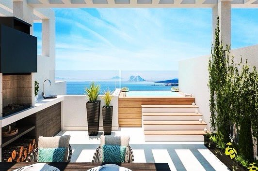 MANILVA... Townhouses with amazing sea views starting at 299.000 up to 385.000 #costadelsol #makelaar #seaview #realestate  #rentalproperty #realestateagent #luxuryhomes #golfing  #luxurylifestyle #beach #golfer #sun #familytime #investing #dreambig #spain #golf #familypic.twitter.com/F2d0LxbxmR