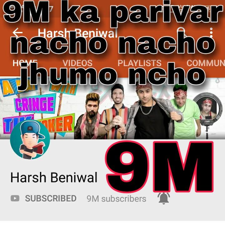 @ashchanchlani @CarryMinati @Bhuvan_Bam #harshbeniwal #youtube #anandkumar  Nacho nacho nacho  Aaj jhoomo jao nachopic.twitter.com/rQRH1yfAtg