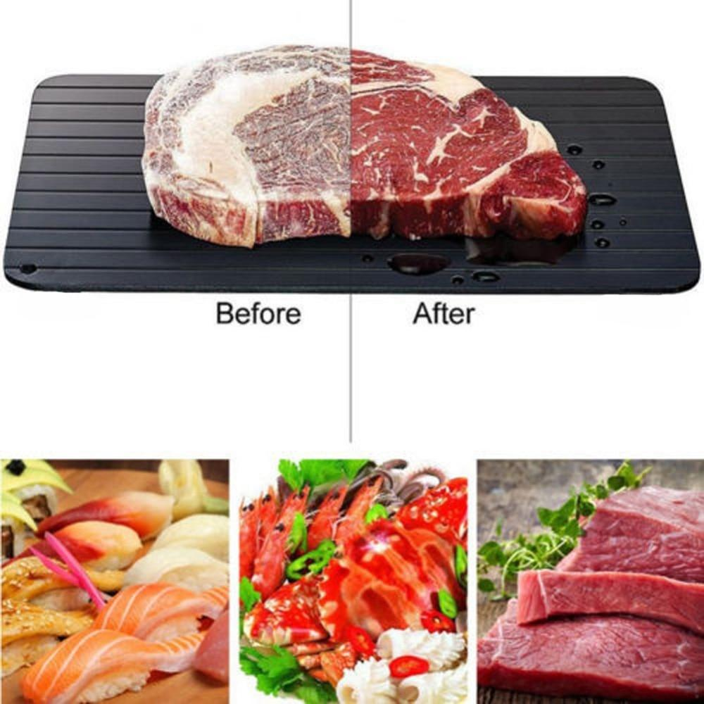 Looking for a steal? Meijuner Fast Defrosting Tray Thaw Frozen Food Meat Fruit Quick Defrosting... is now selling at $18.60   Product by Press Advantage   Grab it ASAP  https:// shortlink.store/E6dydg2onX    <br>http://pic.twitter.com/HggCblMTya