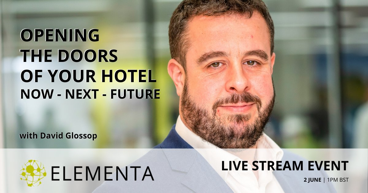 Join principals David Glossop and Rob Harris next week on 2 June, as they discuss strategies addressing the now, next, and future challenges facing the hotel industry.  Register for free here: https://bit.ly/3dY8CBF   #HotelIndustry #EngineeringInsights #PostCOVID19pic.twitter.com/NsMU4sbQB4