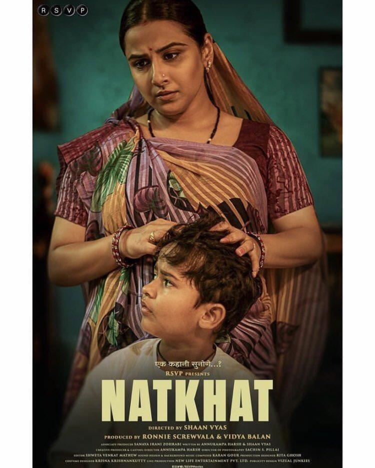 @balanvidya unveils the first look of her debut short film 'Natkhat' . . . . #star__bollybuzz #vidyabalan #bollywood #bollywoodactress #natkhat #shortfilm #quarantinelook #quarantine #bollywoodimages #bollywoodpictures #celebrity #bollywoodnews #bollywoodupdates #bollywoodheroinepic.twitter.com/IRqiVgqZjc