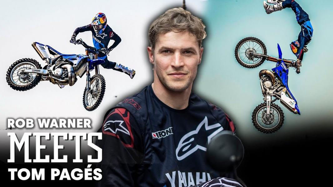 http://MXO.nl   Video: Ontmoet Freestyle Motocross legende Tom Pagès http://dlvr.it/RXVbYmpic.twitter.com/IH4dvLRk1v