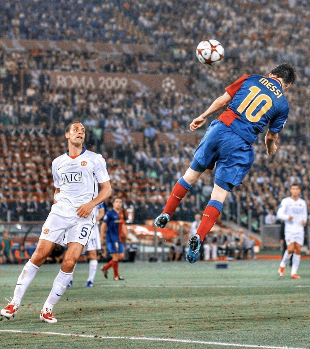 An iconic header by an iconic player. 🐐