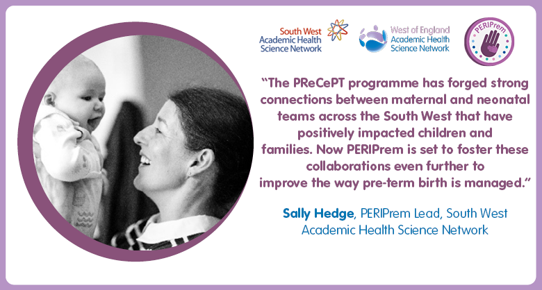 Last year the @Precept programme helped protect dozens of babies across the UK from developing #cerebralpalsy. Now maternity, obstetric & neonatal teams in #West & #SouthWest England are collaborating to trial a new perinatal #innovation. Learn more:https://t.co/dI3GHuWJD0 https://t.co/mPO9fBRA2N