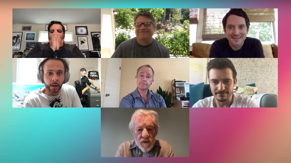 'Lord of the Rings' cast reunite over video chat in a truly epic trailer  https:// trib.al/Fvd1tWR     <br>http://pic.twitter.com/ZwTWgHcJhF