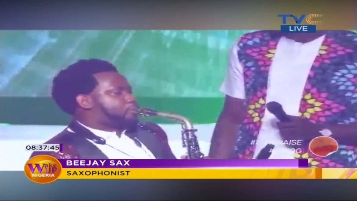"""Nobody in our generation has experienced this kind of situation before but we've been trying to hold up. The Beejay Sax brand has tried to stay relevant by maximizing virtual platforms but it doesn't feel as good as physical concerts."" ~ @beejaysaxbolaji #WakeUpNigeriaOnTVC<br>http://pic.twitter.com/3VwWOn3TQg"