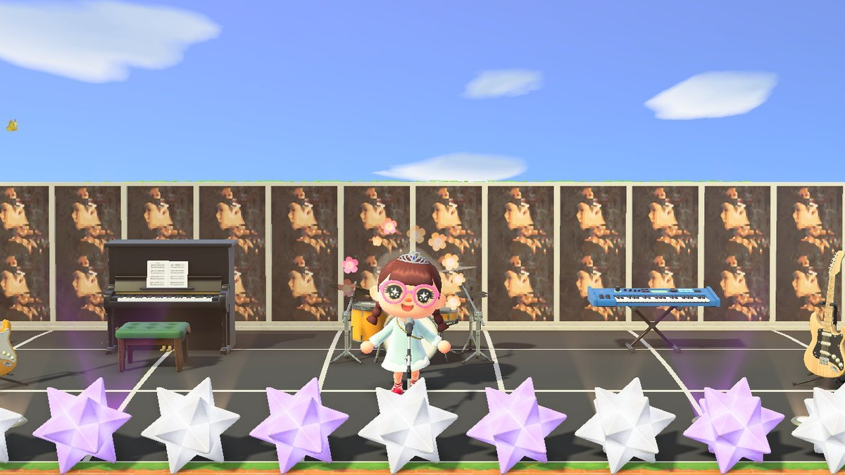 a mini concert area in my animal crossing island :') can't wait for #LIT_LayZhang tooooo<br>http://pic.twitter.com/SmV7R2ydl1