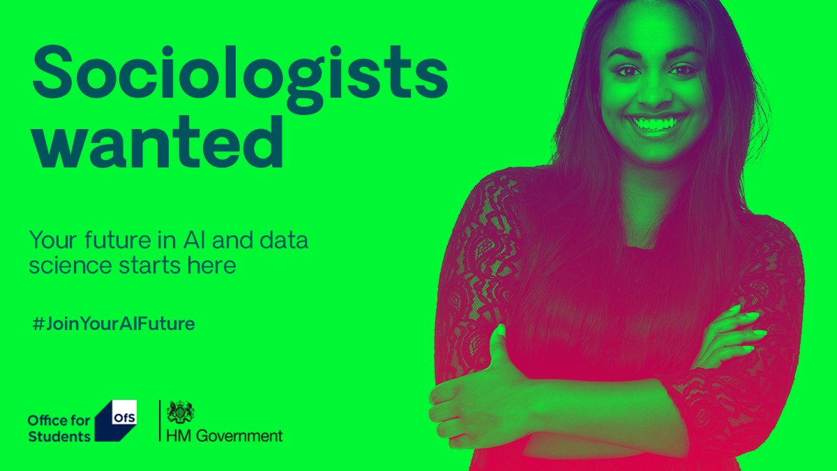 The University has been awarded a share of £13 million from @officestudents to support and grow diversity in AI and data science. Most of the award (85%) will be spent on postgraduate scholarships. 👉 ow.ly/jyN150zITCp #JoinYourFuture #ThursdayThoughts