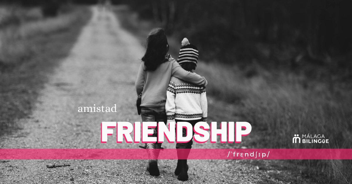 'Friendship' - Amistad #English #Spanish #MalagaBilingue #QuédateEnCasa #StayHome #Amistad #friendship pic.twitter.com/7EPxkOqFZv