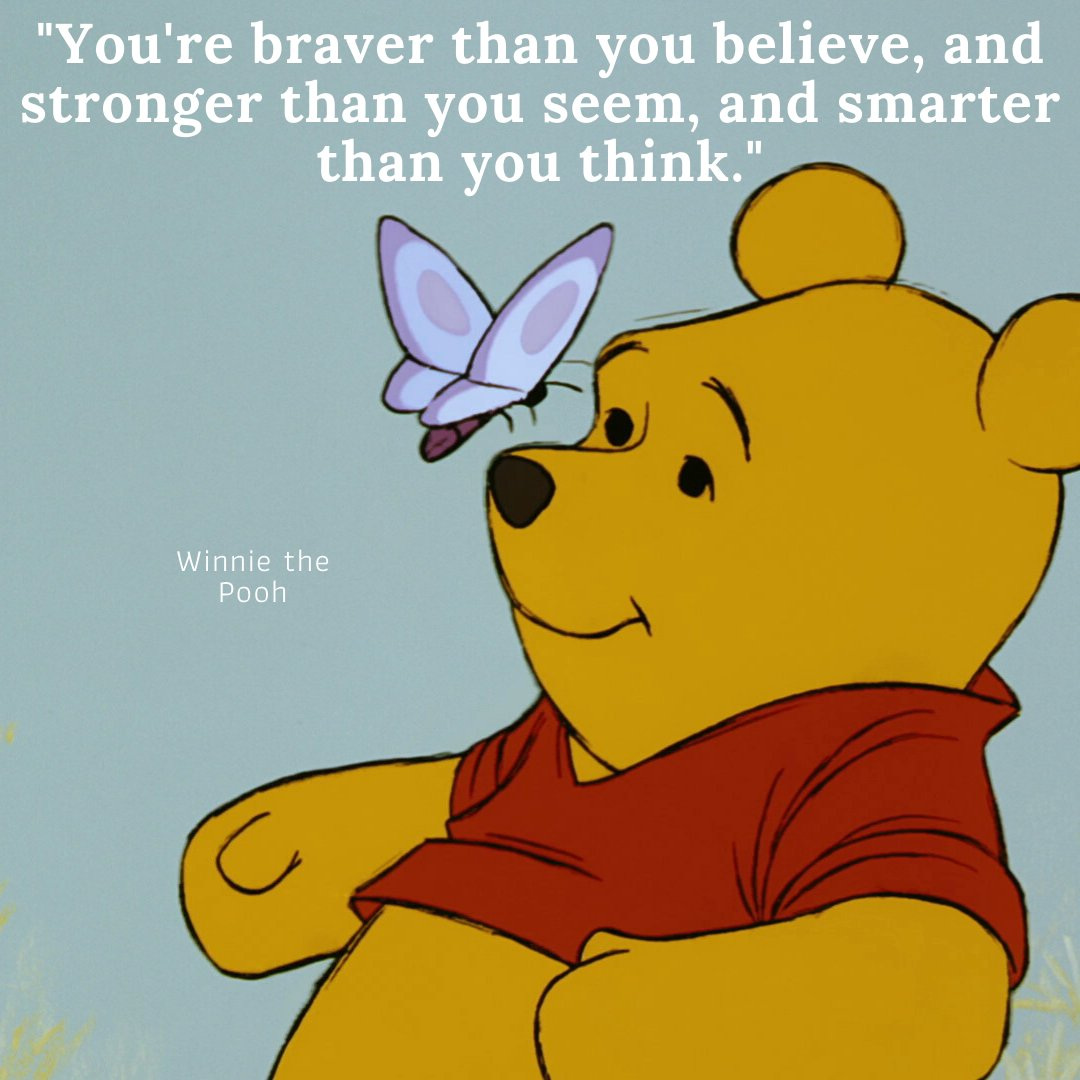 You are smarter than you think.... There's loads more great quotes from characters on our website - https://bit.ly/3flBTI3  #inspiration #successfulpeople #createsuccess #inspirationaltips #inspirationdaily #believeinyourself #northantsblogger #kidsparties pic.twitter.com/lrw1wrJo4p