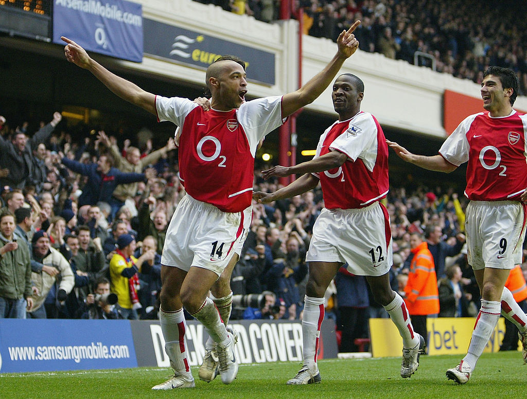 On the bus, Henry, me, Edu and Vieira played cards and Henry got angry if he lost. 'You can laugh but it was like that. If you didn't give him the ball, if he didn't score, he would get mad. It was horrific. - Lauren