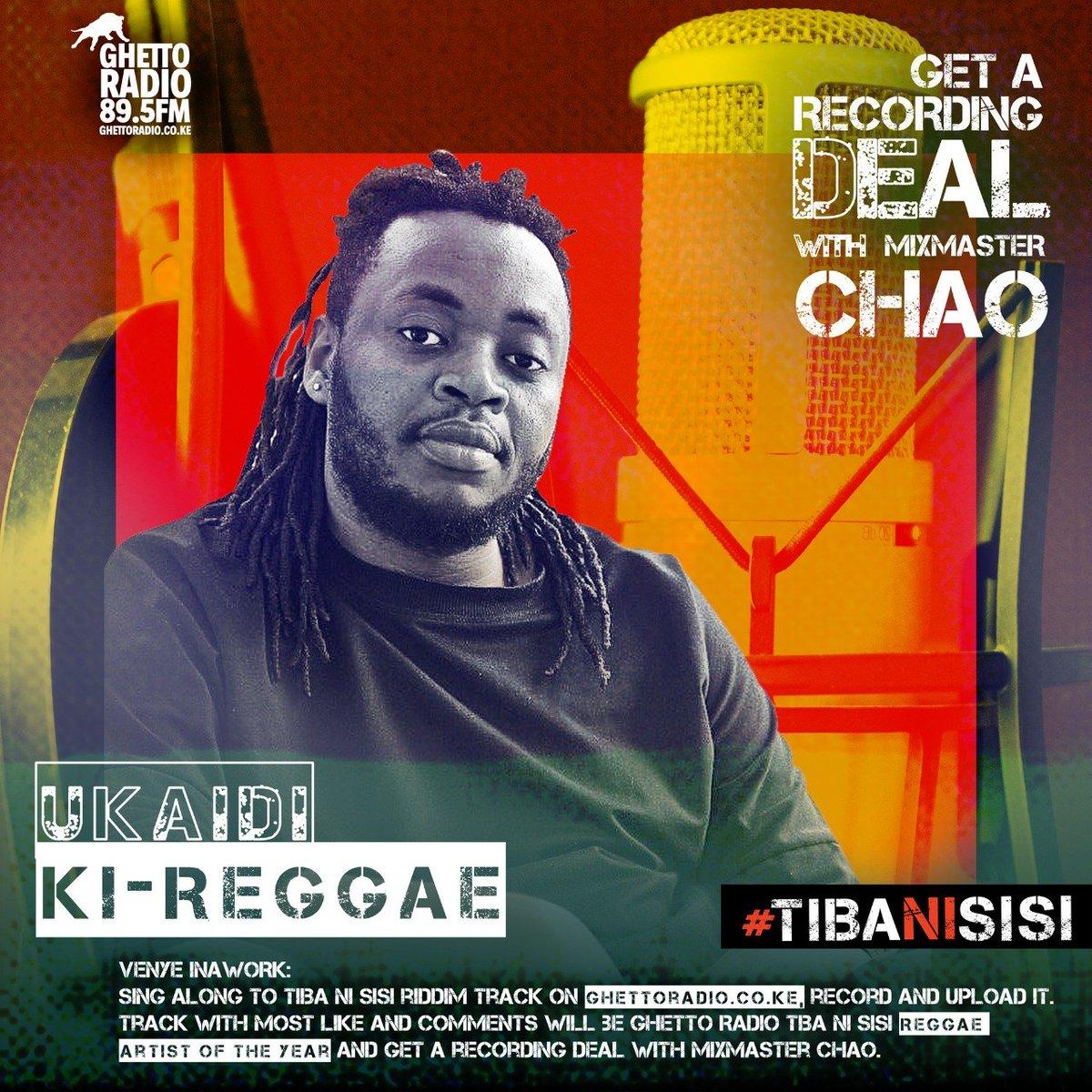 Wewe ni Shatta pande ya Reggae!? Tunasaka Reggae artist courtesy @TibaNiSisi riddim, record sample moja simple ukitumia #TibaNiSisi instrumentals, tag us on social media unaweza angukia Recording Deal matata!!! #Goteana Get #TibaNiSisi instrumentals here>>soundcloud.com/ghetto-radio-8