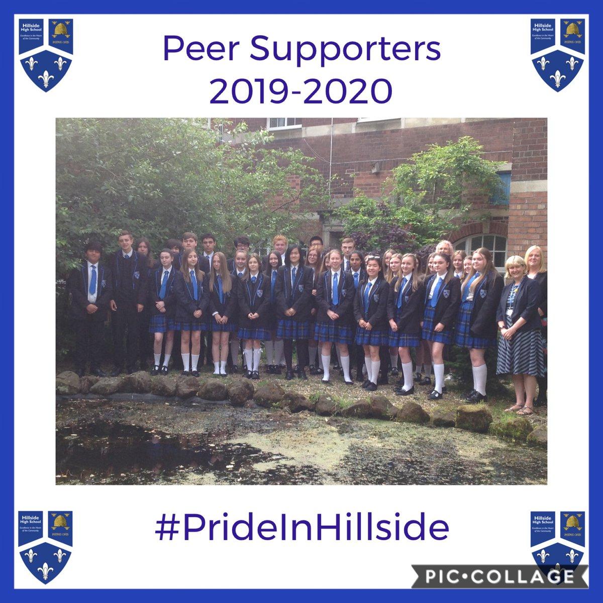 Throwback Thursday  Peer Supporters 2019-2020  #PrideInHillside #ThrowbackThursday  #MissYou pic.twitter.com/vz73AIahsU