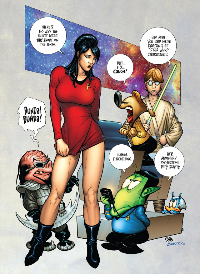 Liberty Meadows: Red Shirt Brandy San Diego Comic Con [SDCC] 2012 Exclusive Print (2012) Art by: Frank Cho and Brandon Peterson #comicart<br>http://pic.twitter.com/F8717U5Mf7