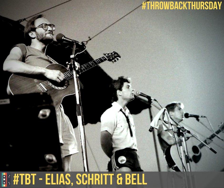 #TBT Ladies & Gentlemen...ELIAS, SCHRITT & BELL!!! ahh......the 80's  #throwbackthursday #stevebell #80s #blastfromthepast #winnipeg #1980s #live #retro #concert #festival #memories #backthenpic.twitter.com/KTX97XTUgC