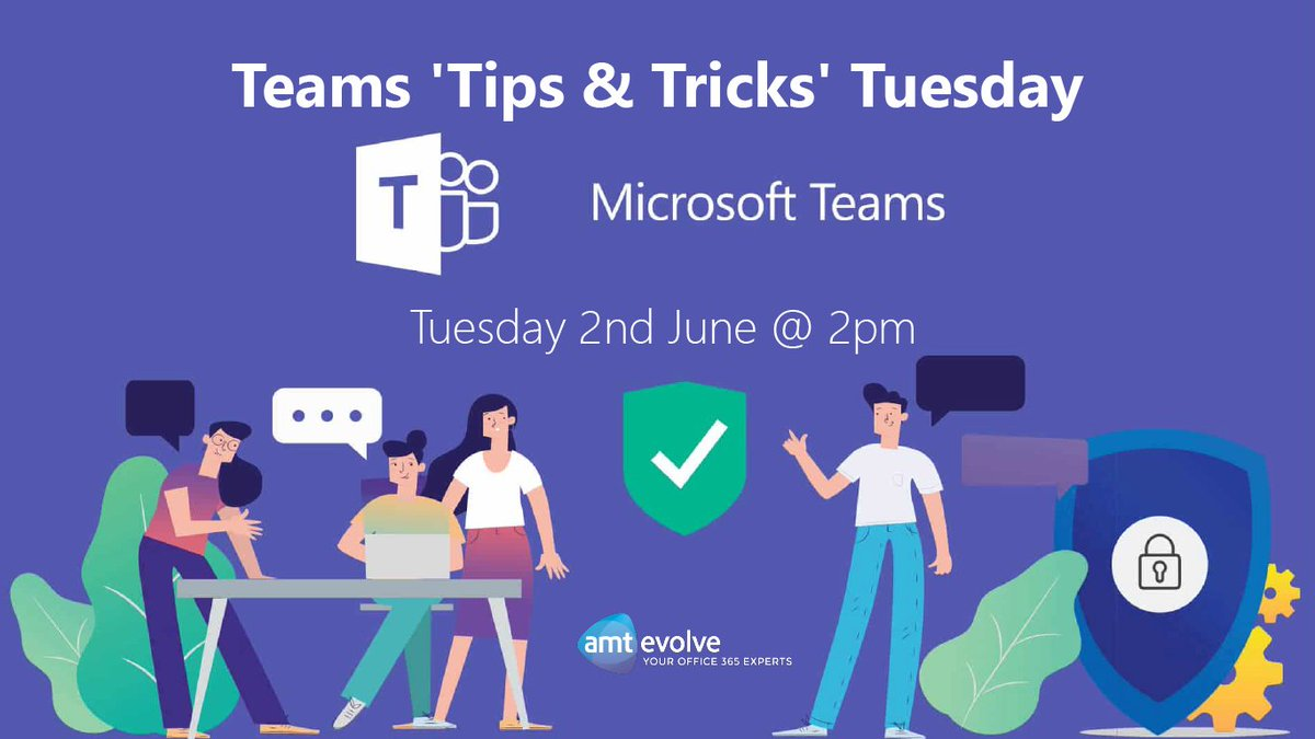 Make sure you get yourselves on to our Microsoft Teams Tips and Tricks Tuesday!  Lots of helpful info that will get you working with Teams properly.    http:// ow.ly/U8ud50zReUt      #MicrosoftTeams #MSTeams #Webinar #MicrosoftGoldPartner <br>http://pic.twitter.com/PflfDRUwgC