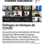 Image for the Tweet beginning: Muy importante diálogo de Ciudades