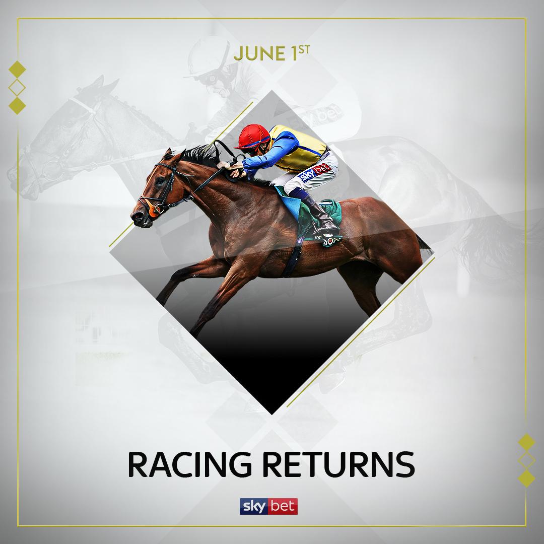 Saddle up 🏇 Racing is back 😍🇬🇧