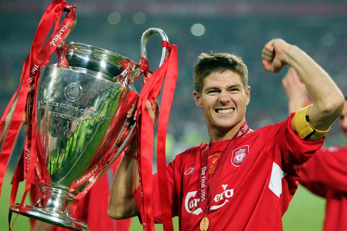Happy birthday to Liverpool legend Steven Gerrard! 1 Champions League 2 FA Cup  3 League Cup