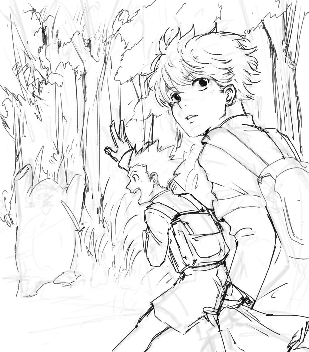 WIP (that i dont know when i'll finish it)  #sketch #hunterxhunterpic.twitter.com/EBXOPJNrsA