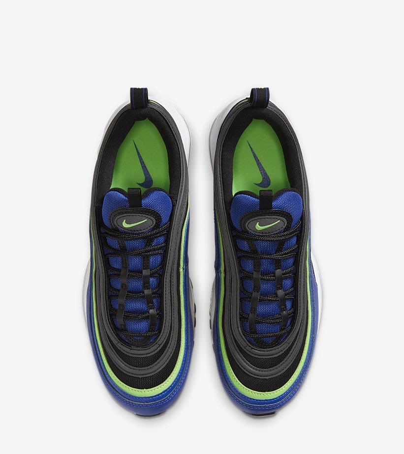 Snkr Twitr On Twitter New Nike Air Max 97 Hyper Blue Green