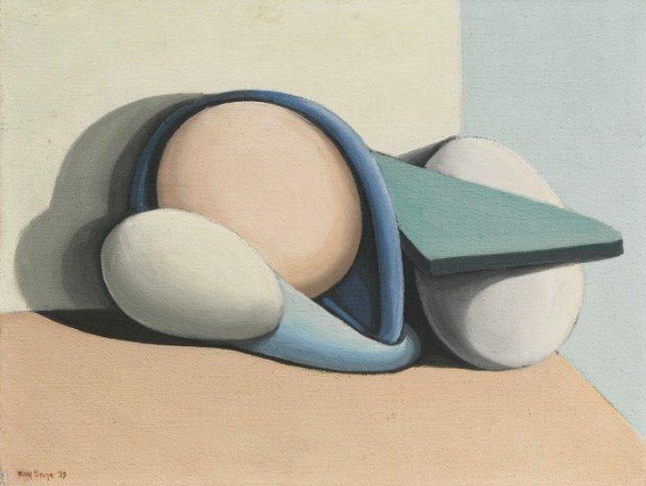 This Morning / Kay Sage 1939 oil on canvas #painting #art #peinture #pintura #surrealismpic.twitter.com/sAVgHzUDDg