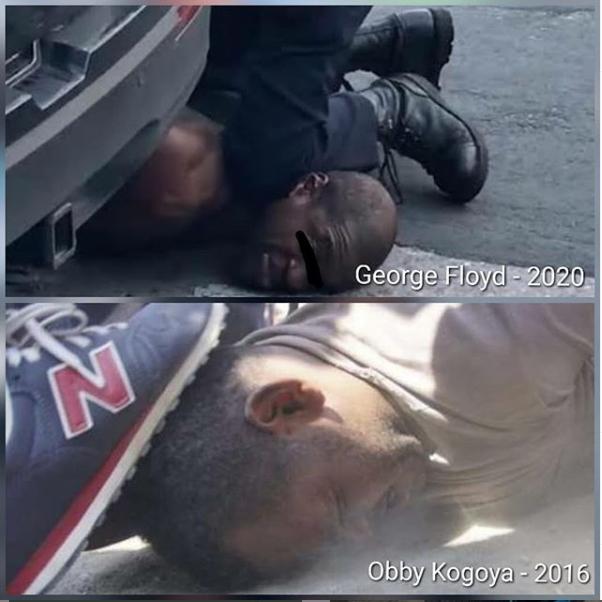 Perlakuan diskriminasi rasial yang dilakukan polisi Amerika pada George Floyd mengingatkan kita pada kejadian pengepungan Asrama Mahasiswa Papua di Yogyakarta pada 15 Juli 2016 silam oleh Ormas dan Polisi yang berujung pada kekerasan aparat terhadap Obby Kogoya. [Thread]