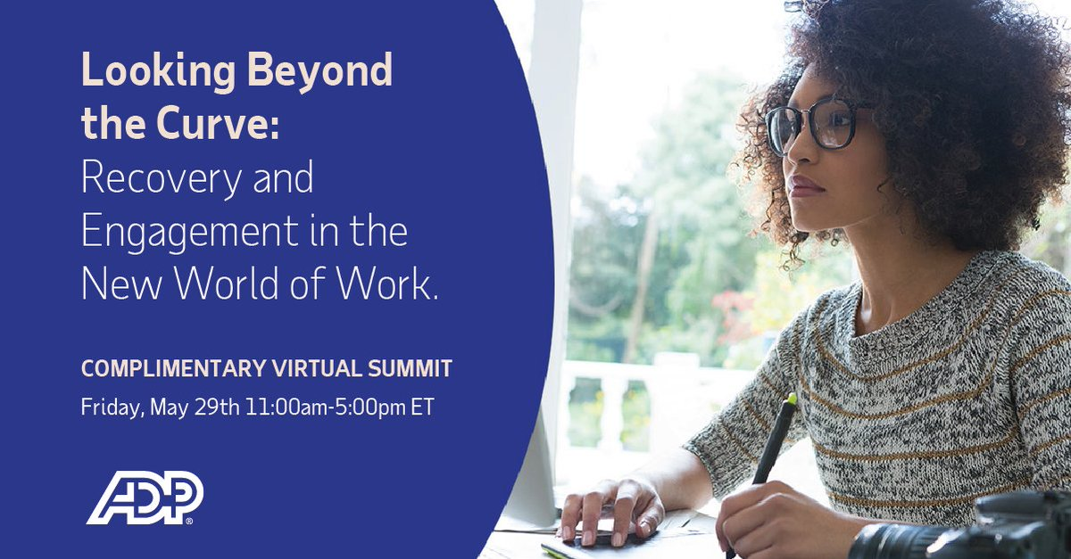 One more day for the ADP Virtual Summit – critical insights, best practices and actionable guidance for what comes next in the world of work. 4 courses offer CPE. https://t.co/Pr6ETazFp9 https://t.co/ZEqppaSrBB
