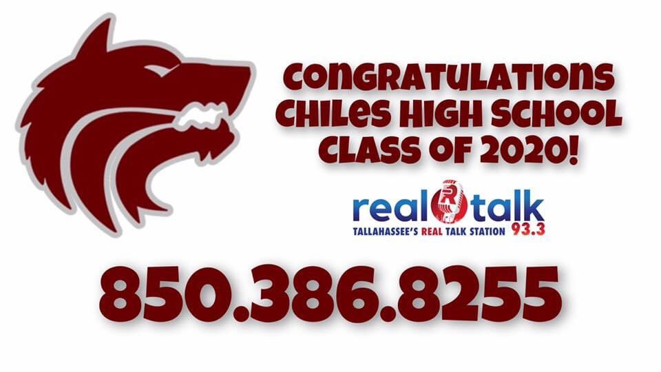 @chiles_hs is next! Graduation call in show starts at 7:30am! @LeonSchools @Greg_Tish @BobbyMacWVFT