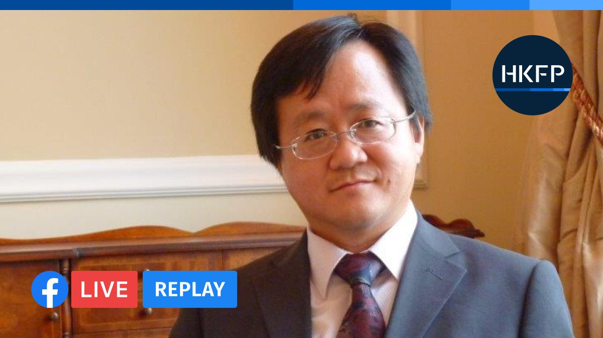 HKFP_Live: HKFP is speaking live to @SOAS China expert Steve Tsang.: https://t.co/Z7s9EAXADC @creery_j https://t.co/js9zkkYcds
