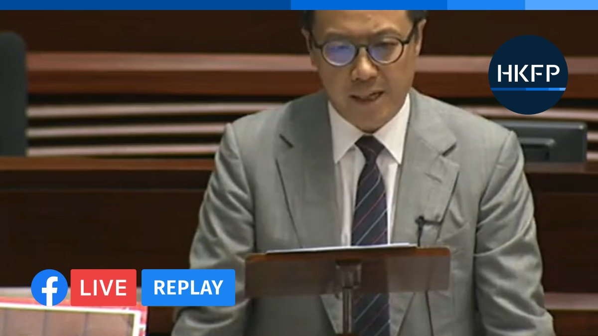 HKFP_Live: Hong Kong's legislature is debating the controversial national anthem bill.  https://t.co/Dn7ohwXuxy https://t.co/MmJ42wouhD