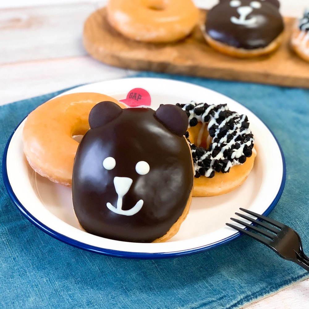 クリスピー・クリーム・ドーナツ「ブラナンベア カスタード」GAP新宿フラッグス店内「Gap cafe」限定ドーナツ -