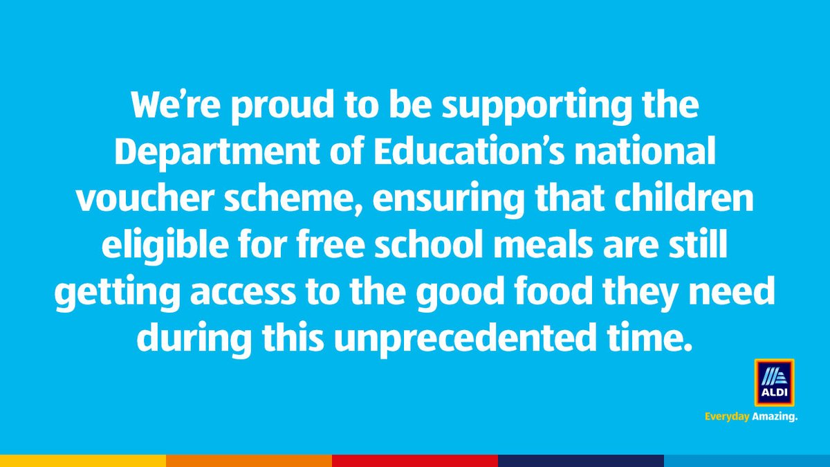 We're here for you, and your children! That's why we're supporting the @educationgovuk to allow you to spend your school meal vouchers in our stores. Helping you get access to the good food they need. https://t.co/uQ9GojjzJB