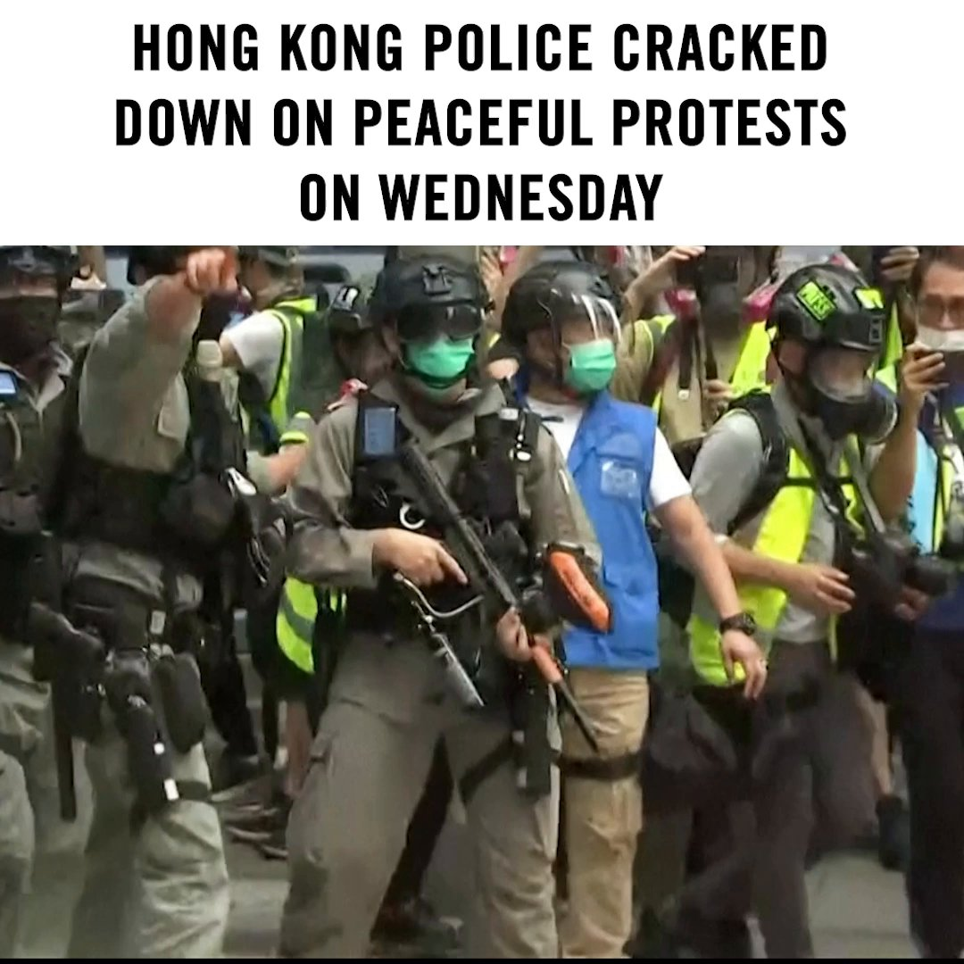 Protect peaceful protesters standing up for human rights in Hong Kong.