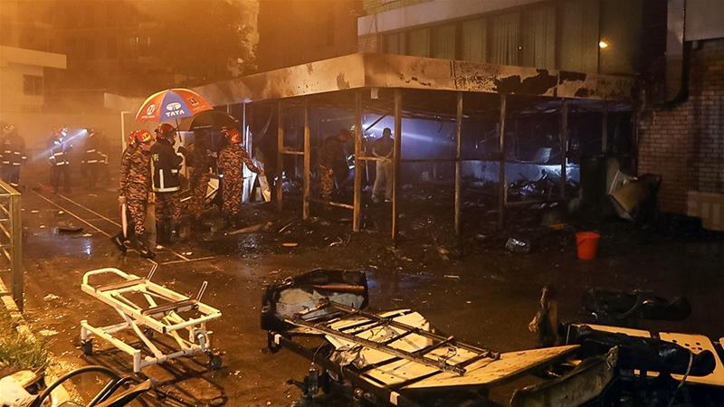 Bangladesh orders probe after deadly fire at COVID-19 facility https://t.co/hb73t7WkXx https://t.co/A44pubQwYB