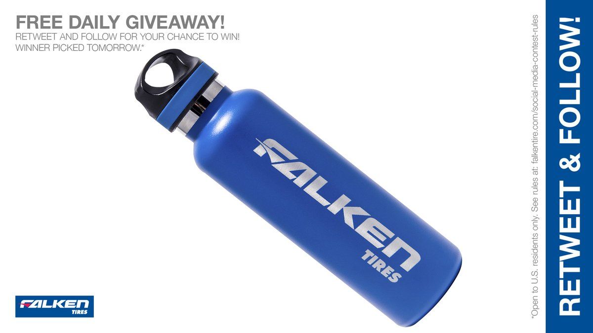 Make #thirstythursday a little easier to swallow. RT & follow #FalkenTire to enter & #win this #contest or other #swag! #giveaway #prize Rules: bit.ly/2grA0A4