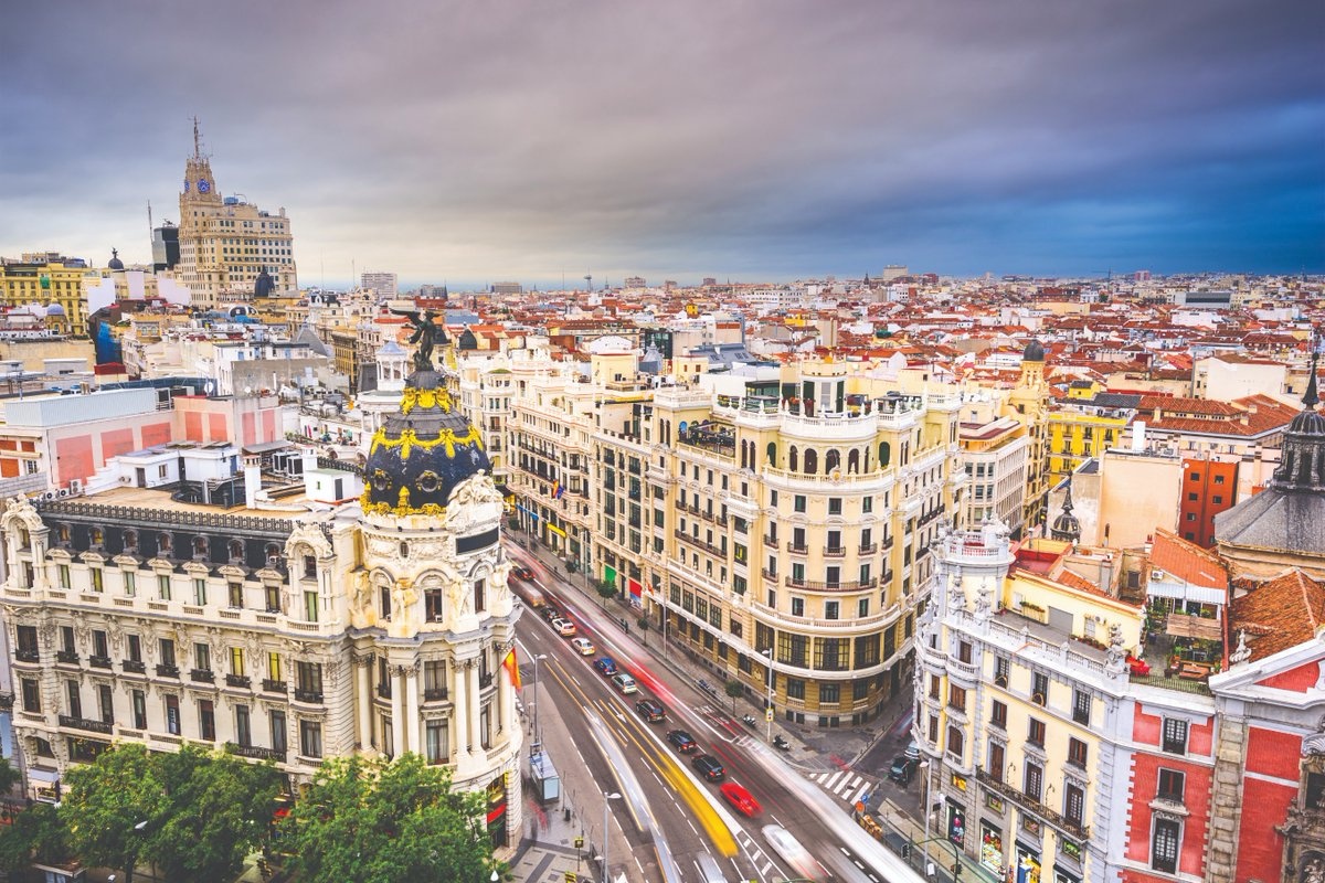 Spain is an ideal summer getaway, with incredible natural beauty and a rich history. We're delighted to reinstate flights to Madrid, on a 3 times weekly basis. #QatarAirways pic.twitter.com/2891sCRgAf