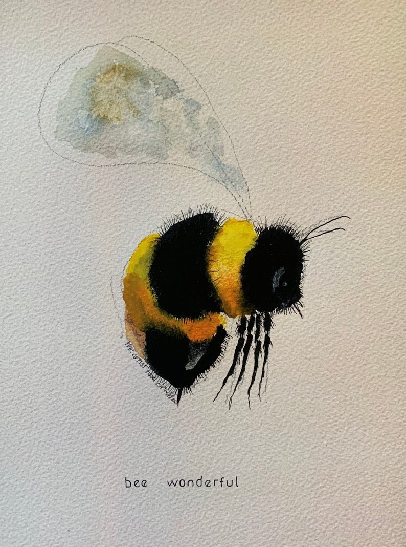 Bee wonderful 🐝 this one is gorgeous etsy.com/uk/listing/775…